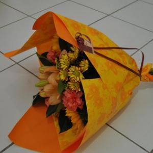 Bouquet composé grand modèle