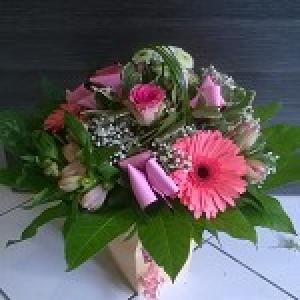 Bouquet rond  moyen modèle